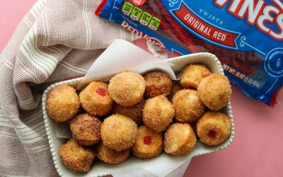 Red Vines Donut Holes