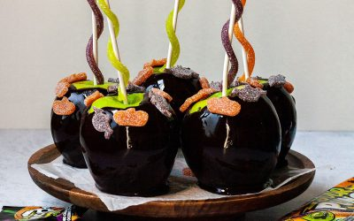 Sour Punch Candy Apples